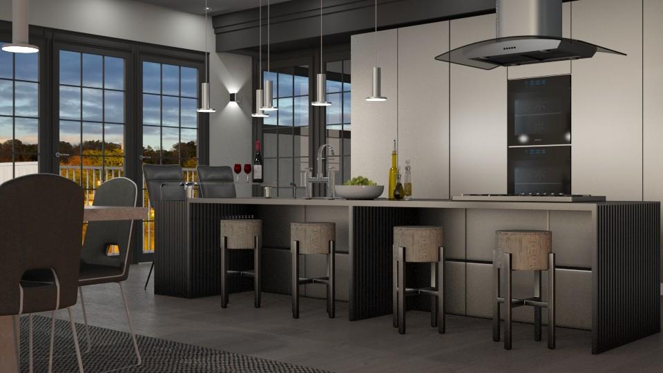 Kitchen Island - Kitchen - by GraceKathryn