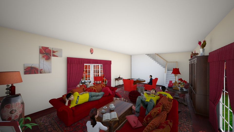 sloppy sunday - Modern - Living room - by and_sew_on