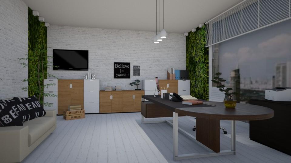 Living Office Wall - Office - by __Nikoletta__