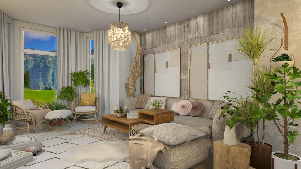 Bohemian Living - Living room - by Vlad Silviu