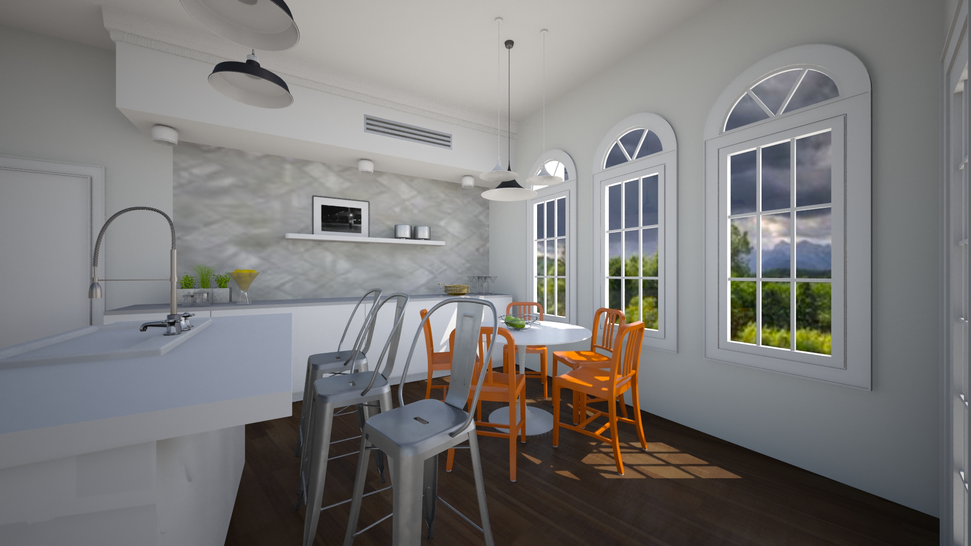 Wrubel Dining room opt 2  - by elaw