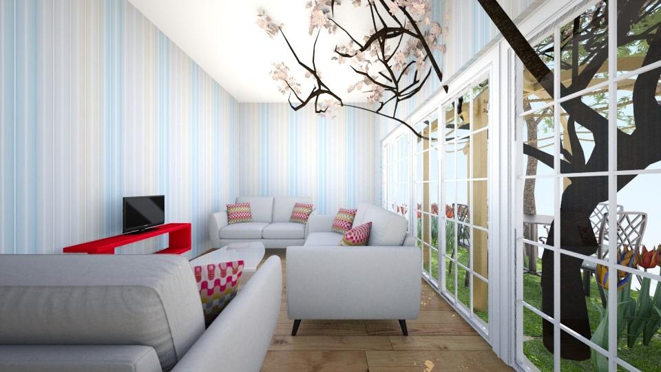 my living room  - Living room - by Faranak