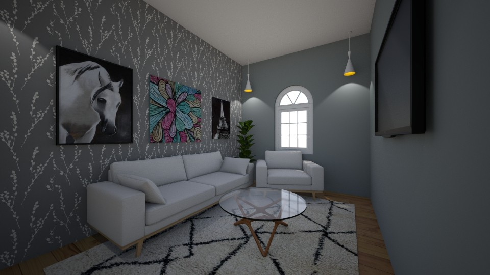 modern living room - by tinyhan