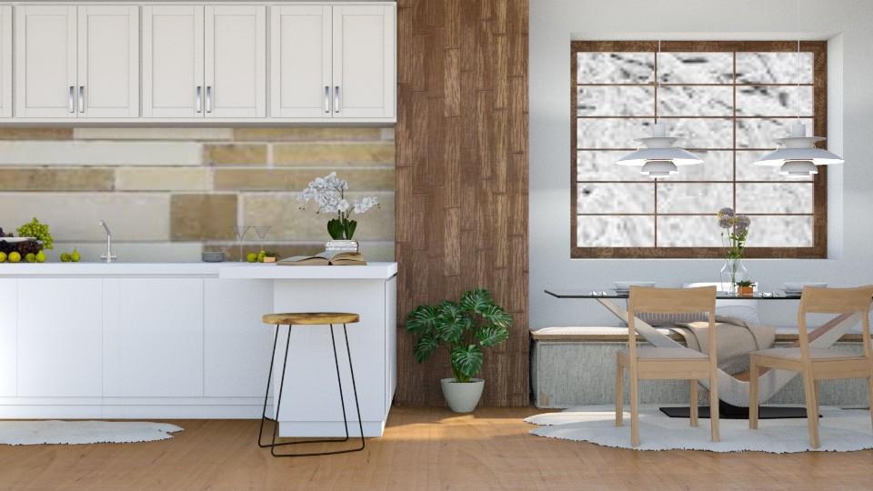 December - Rustic - Kitchen - by millerfam