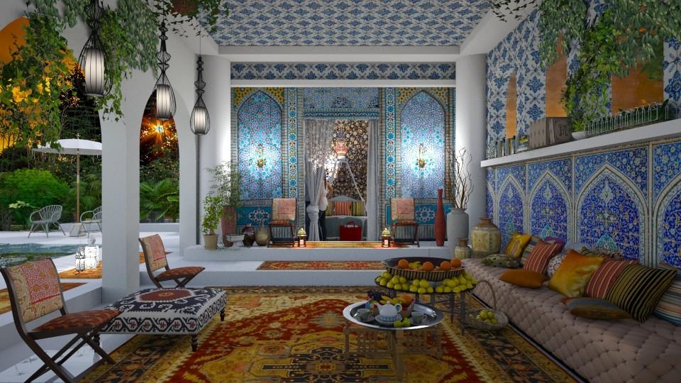 Ottoman Porch - Eclectic - Garden - by Ida Dzanovic