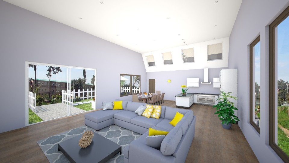Open Living - Living room - by safihya88
