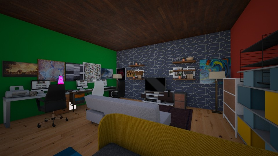 studio - Global - Office - by GhaidaTheDesigner