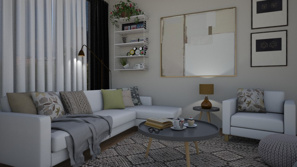 Cosy little lounge - Living room - by Tuija