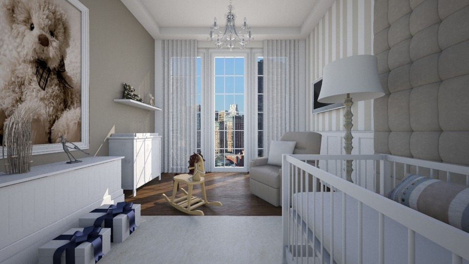 Quarto Infantil Apart - Bedroom - by Valeska Stieg