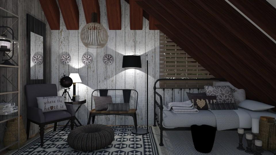Small Bedroom 26 - Classic - Bedroom - by XiraFizade
