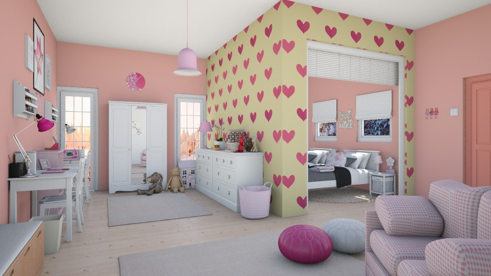 Twins world - Kids room - by agapka