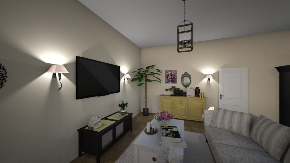 Personalized - Glamour - Living room - by tena9