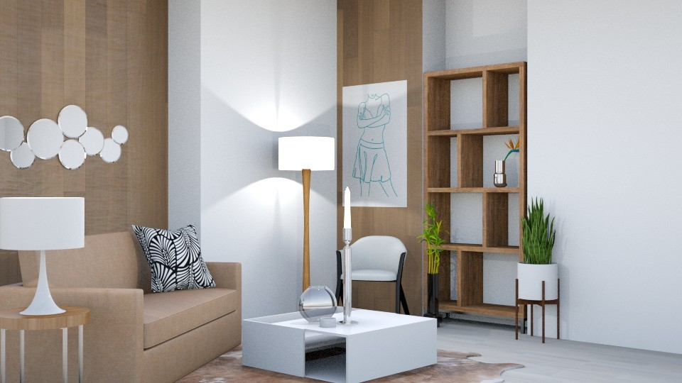Live 3 - Minimal - Living room - by Isaacarchitect