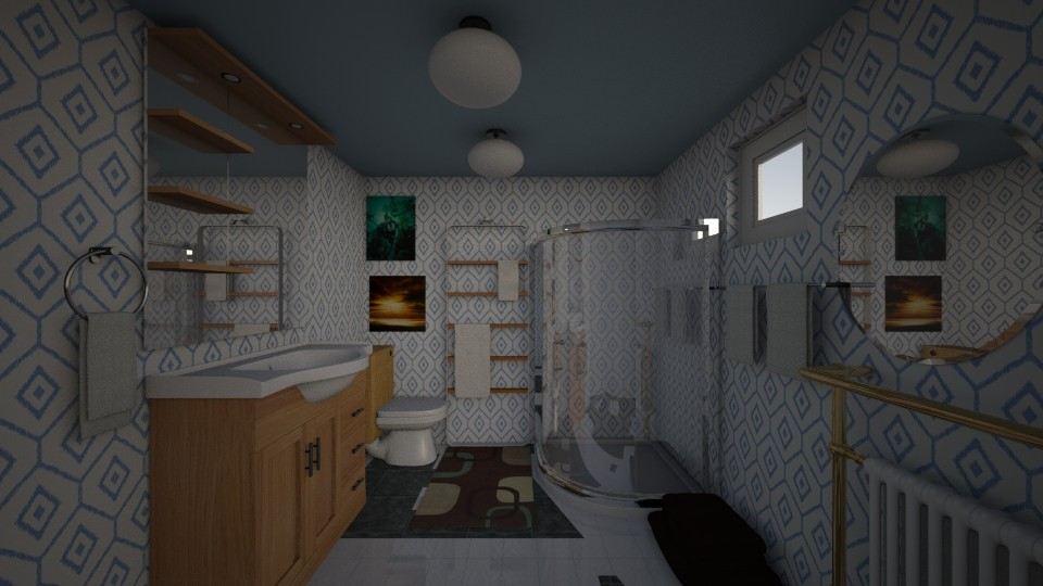 Your Average Bathroom - Bathroom - by Tiny Dancer