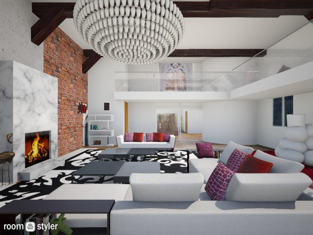 large church loungeangle - by Interiors by Elaine