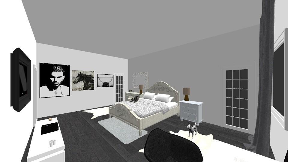 model1bedroom0 - Modern - Bedroom - by lupuuandreea