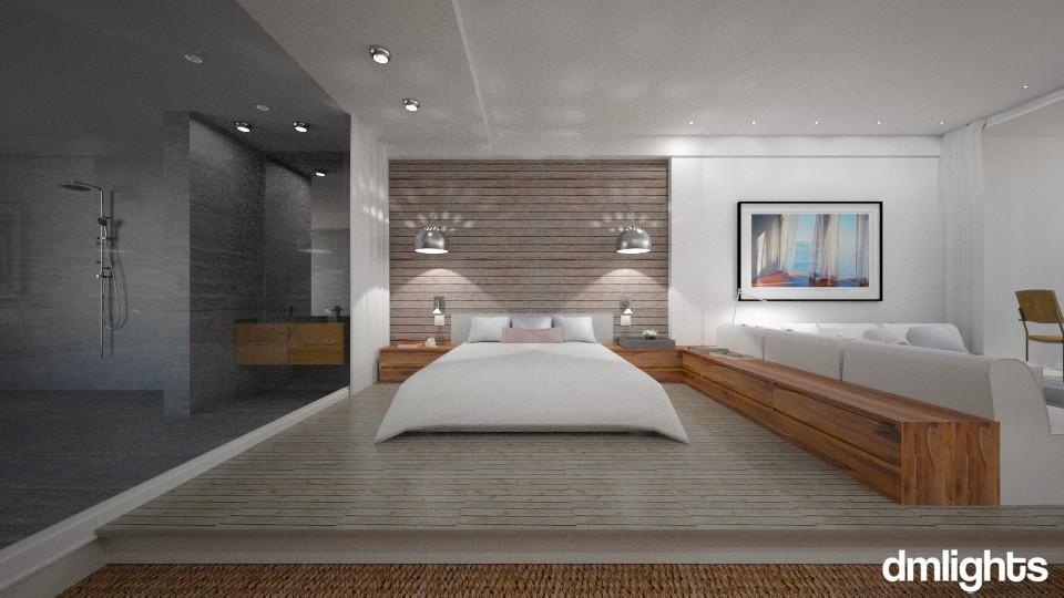 Atlantic Garden - Modern - Bedroom - by Claudia Correia