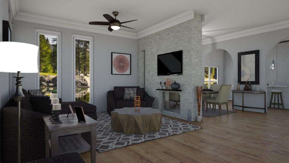 living 101 - Living room - by jdenae3