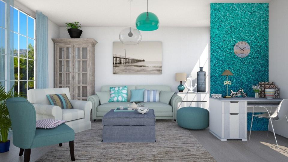 Pacific - Vintage - Living room - by Liu Kovac