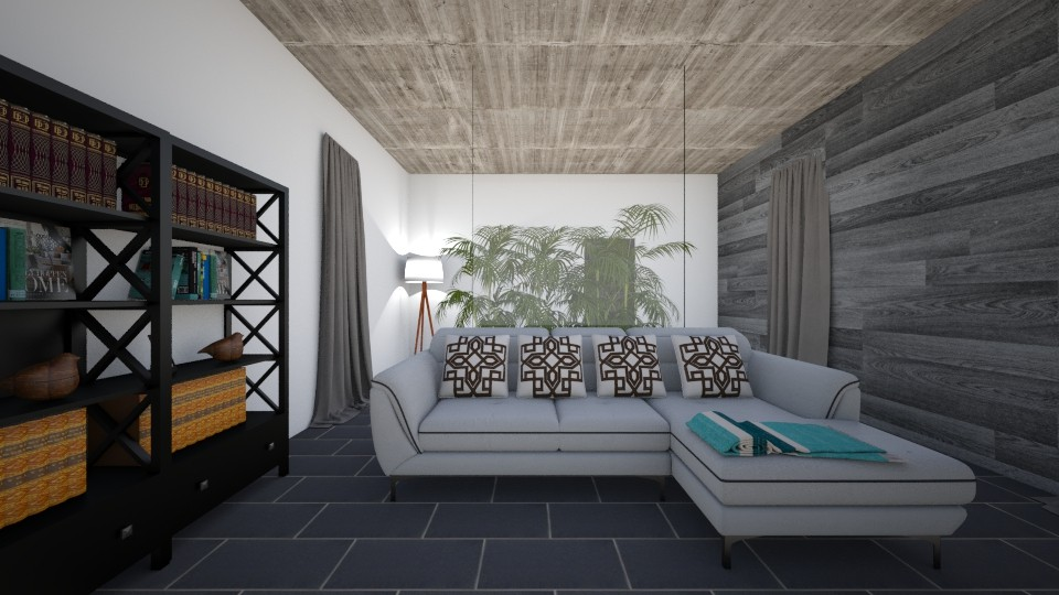 Concrete - Modern - Living room - by Brabbit SD