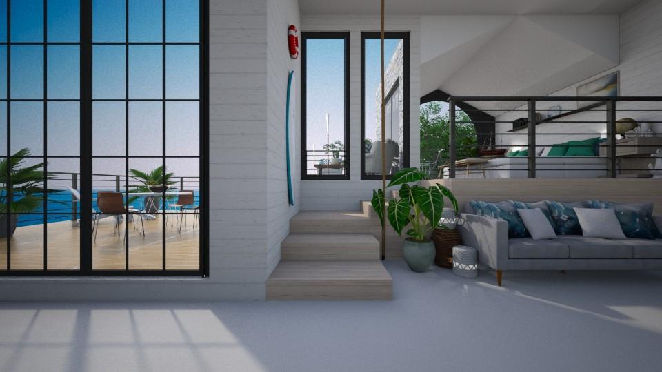 coast to coast - Living room - by Amorum X