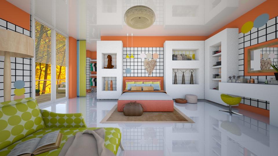 Bedroom - by Nufra