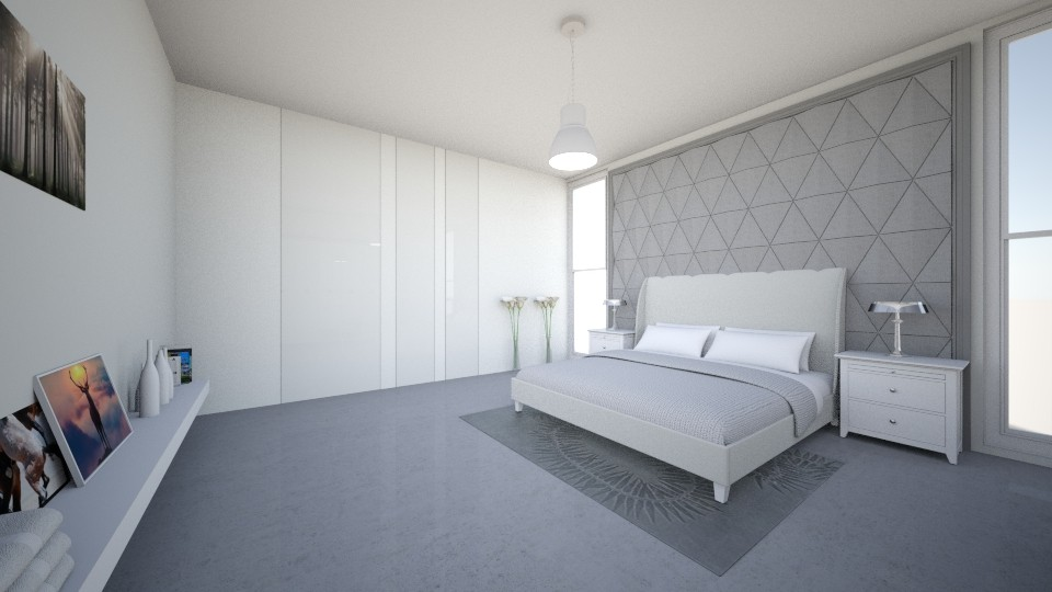 Happiness Gray - Modern - Bedroom - by halizanrh