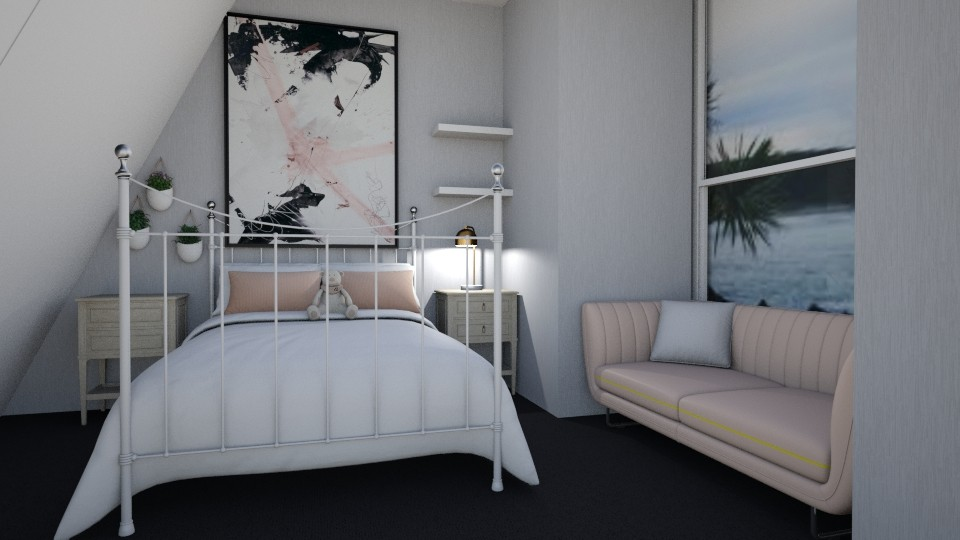 Sea View - Bedroom - by  Keira