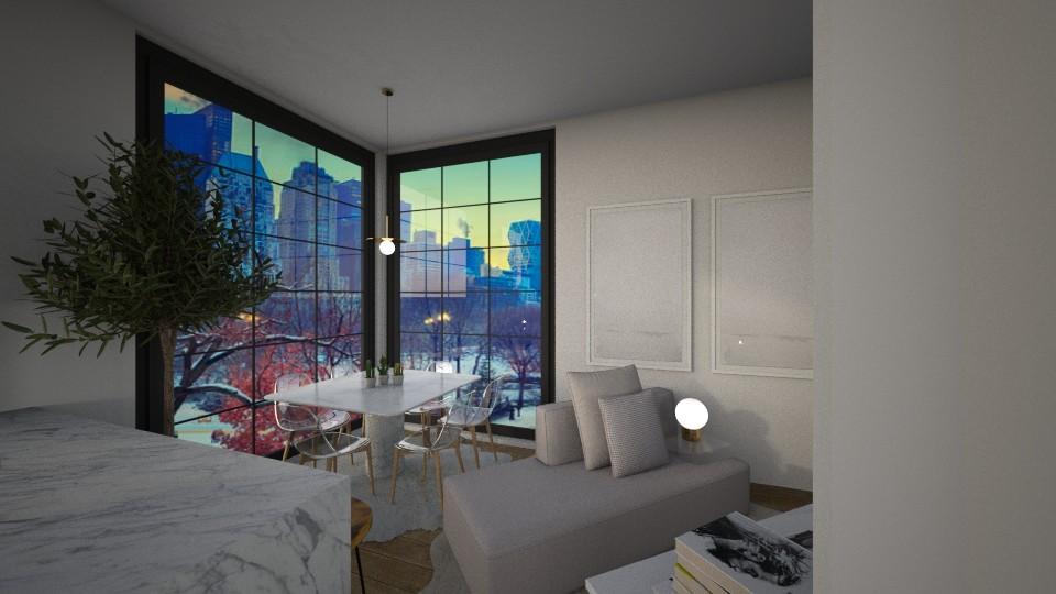 Casa259LivingAndDining - Modern - Living room - by nickynunes