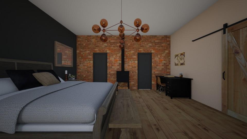 Loft Bedroom - Bedroom - by aviciedo