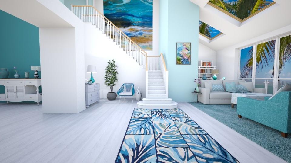 Foyer - Feminine - Living room - by Kathran