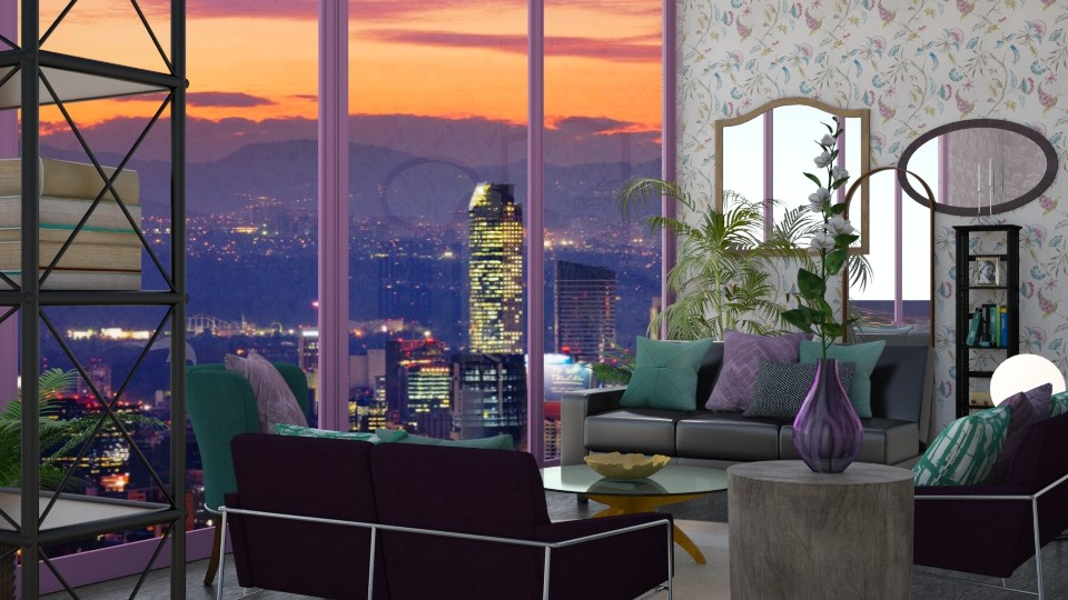 Mx Cty - Feminine - Living room - by timeandplace