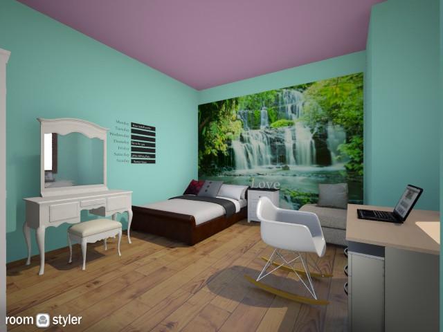 My bedroom - Minimal - Bedroom - by Alexxandra997