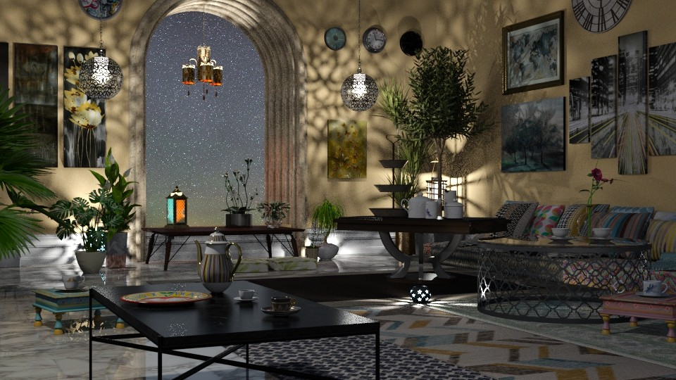 Jaya Nights 1IRay2 bg - Global - Living room - by anchajaya