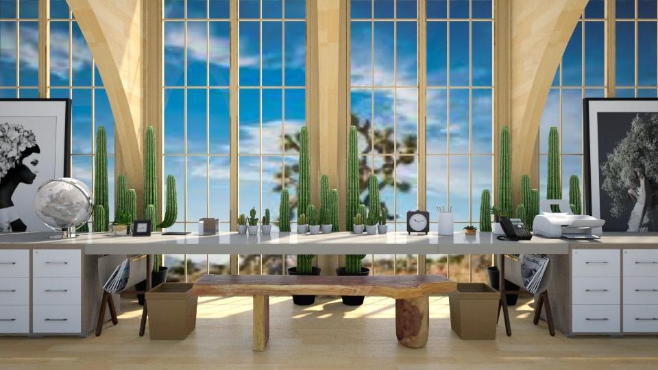 Desert Desk - Modern - Office - by millerfam