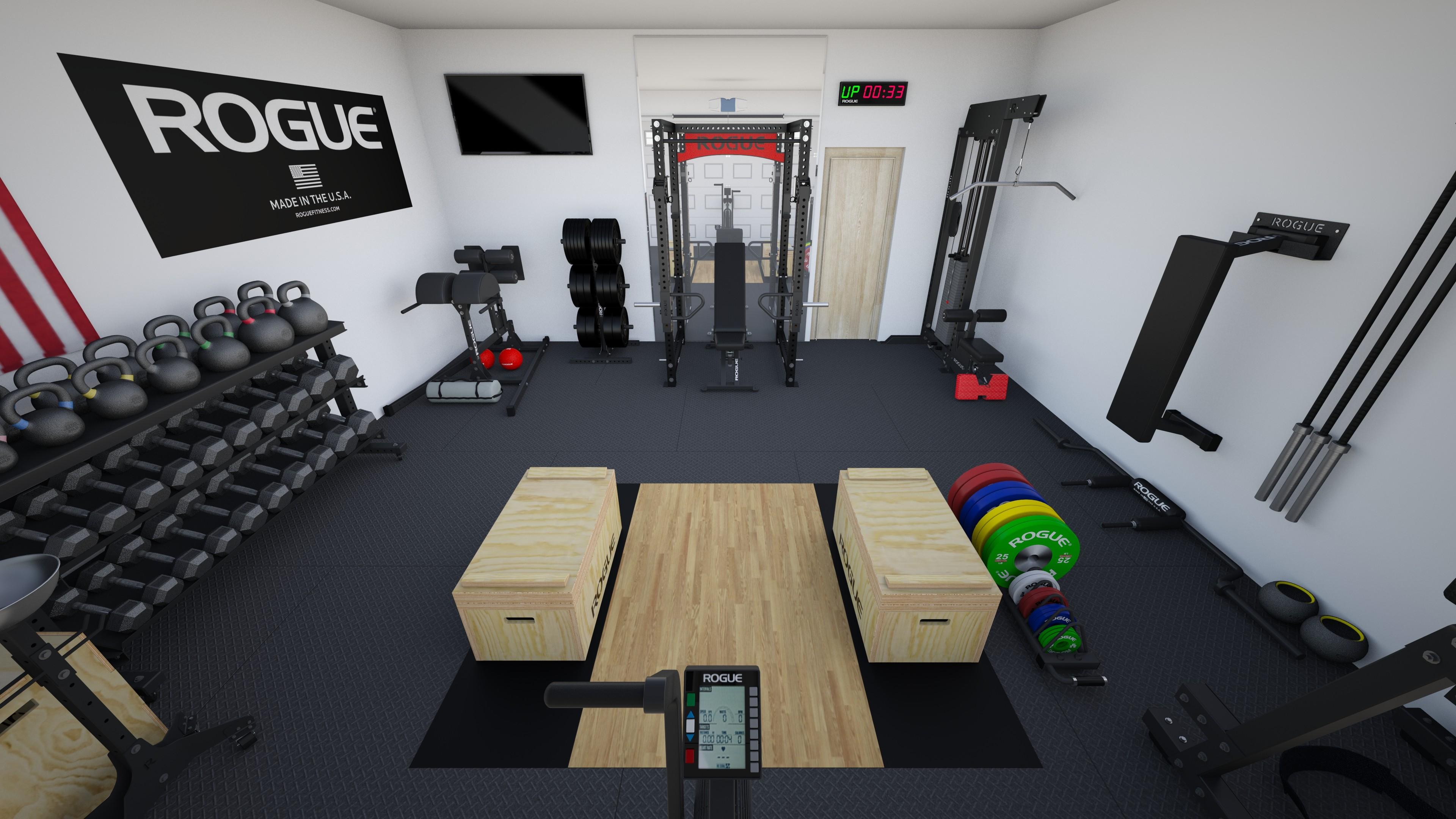 Great photograph of garage gym ideas on a budget garage design