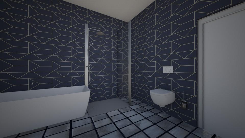 bathroom 2 - Modern - by shelleycanuck