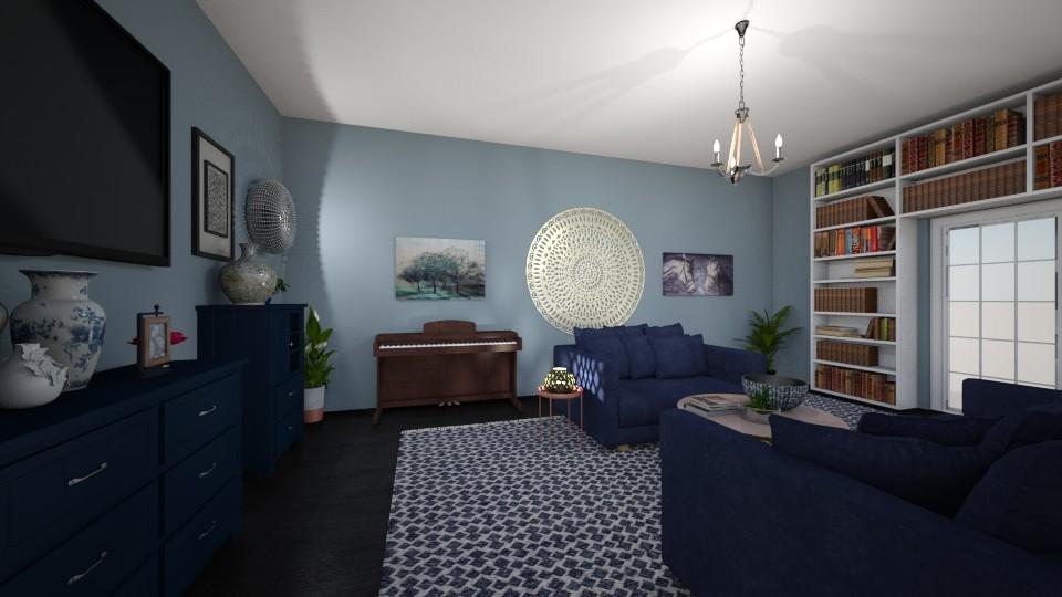 Lovely - Feminine - Living room - by tena9