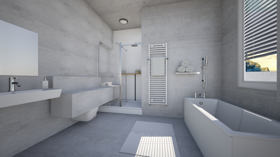 Virtual bathrooms bathroom by virtualbathrooms for Virtual room designer