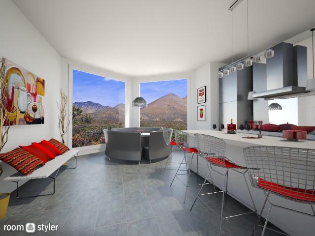 Modern Kitchen and Nook - Modern - Kitchen - by LadyVegas08