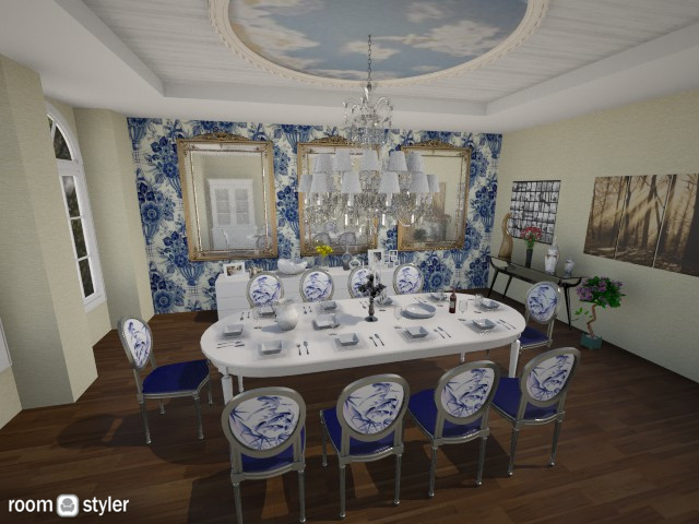 Dining Room 1 - Rustic - Dining room - by Nair Ailen