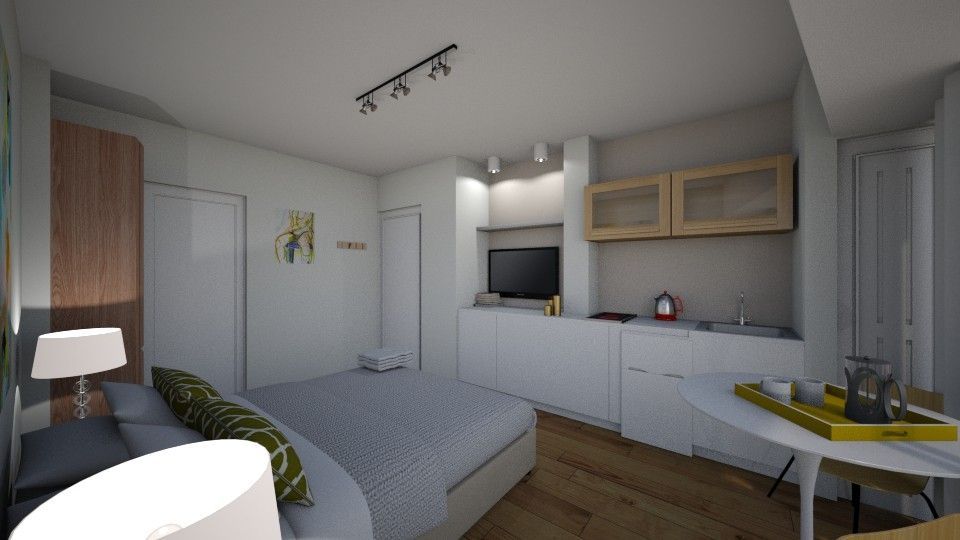 CnelDiaz2 - Living room - by roxyescolar
