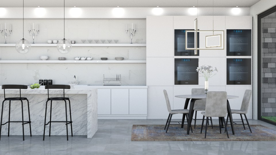 MOD KITCH - Kitchen - by lovedsign