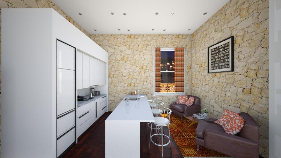 Studio  - Kitchen - by honeylynAmbos