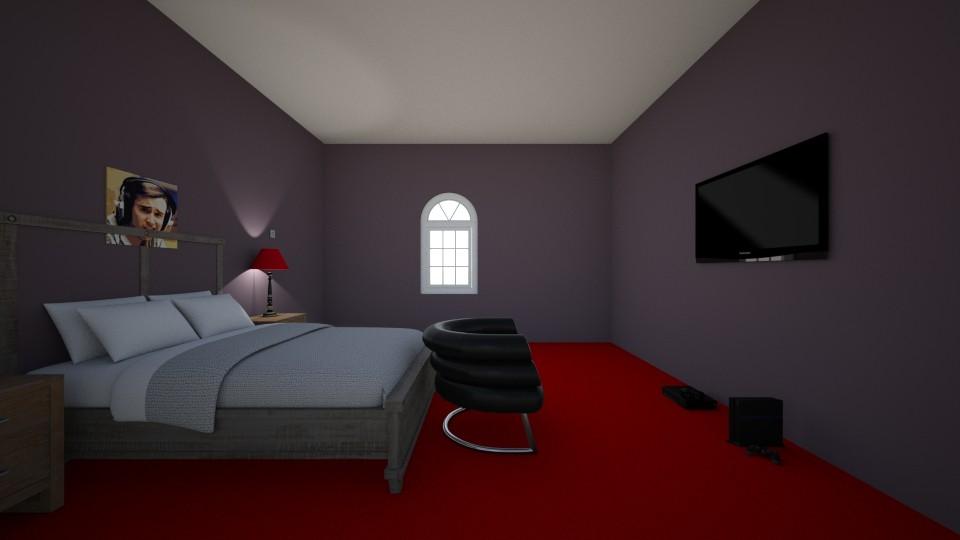 Gaming Room - Modern - Bedroom - by Zombiebarbie220
