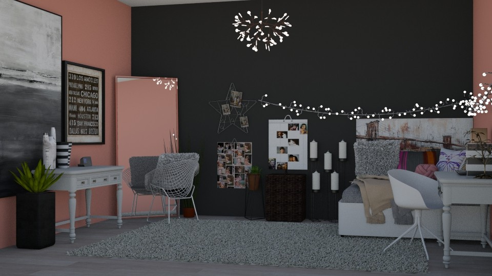 teen_grls_room - Bedroom - by RaeCam