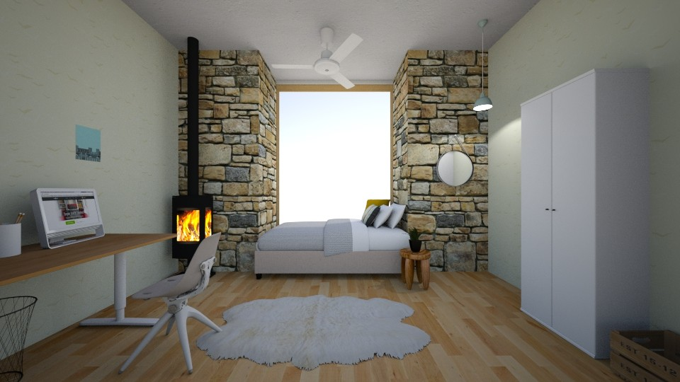 that side - Modern - Bedroom - by mlle_m
