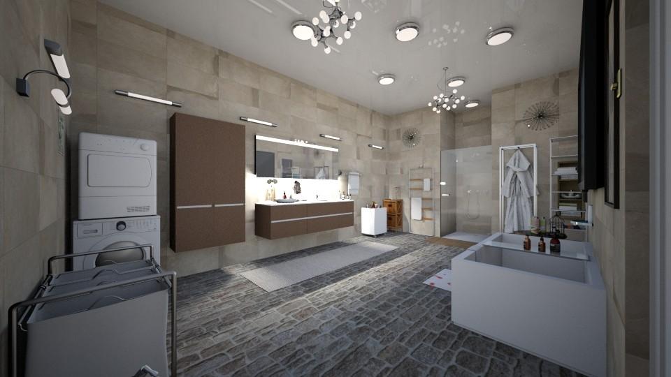 my room - Bathroom - by Mona Noryo