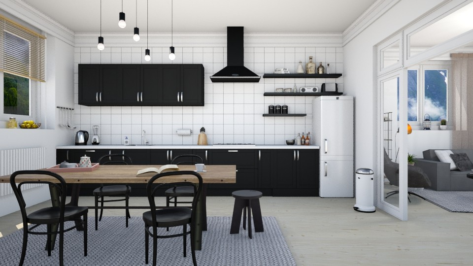 Scandinavian Kitchen - Kitchen - by marleinxs