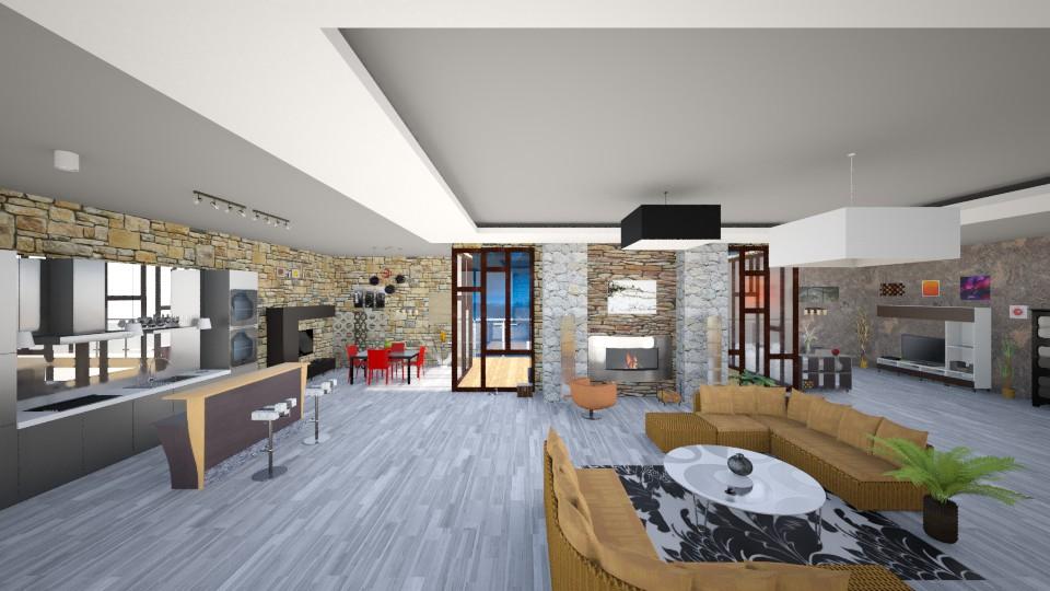 Modern living room - Modern - by Ofiel